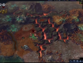 It is shown as a live game look like Civilization: Beyond Earth - Rising Tide (Video)