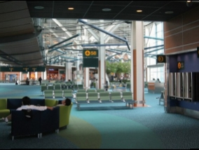 Why are airport passenger terminals carpeted? It's really not without reason and certainly not for convenience - it makes money and even very big money