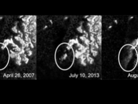Titan recorded the process is a mystery, even for NASA scientists (Video)