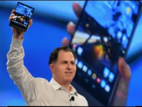 Dell presented the world's thinnest pad (video)