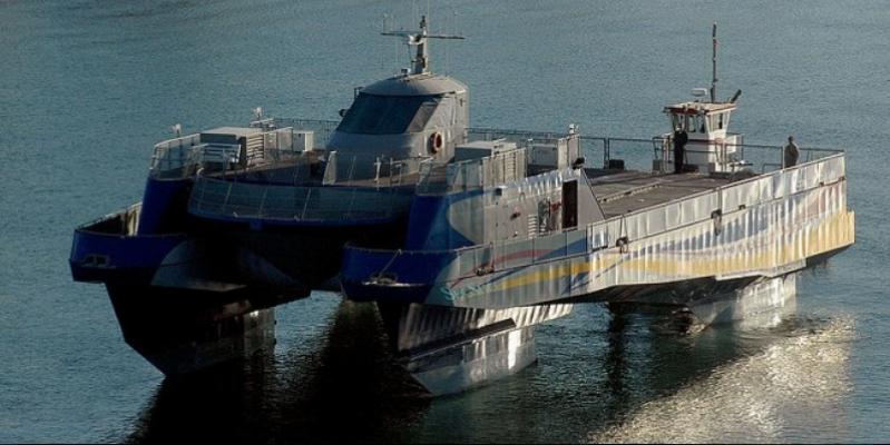 For sale Sea Slice - not swinging Lockheed Martin experimental warship (Video)