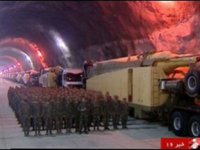 Iran for the first time showed a huge secret underground rocket base (Video)