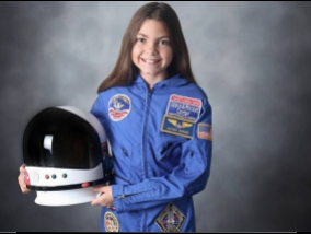 NASA is preparing for the flight to Mars, 13-year-old girl (video)