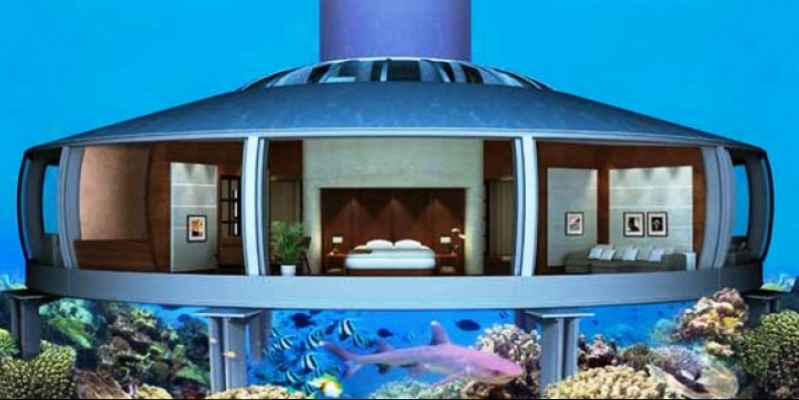 Unbelievable: it is possible to buy an underwater residential house