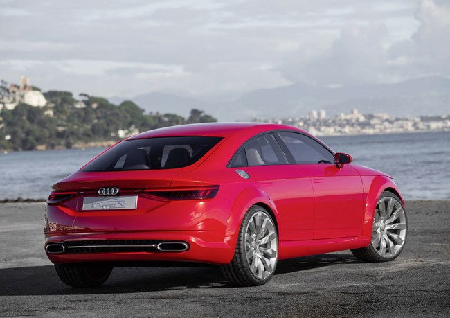 The Audi TT Sportback will be longer and more practical